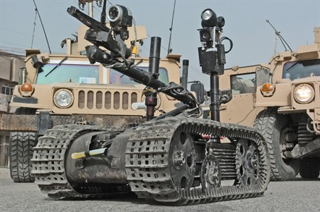 Iraq selected North America's TALON robots