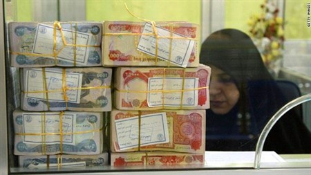 Central Bank of Iraq is not formatted to replace currency at this time