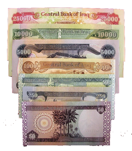 50 Dinars Bank Notes To Be Removed From Circulation By Central Of Iraq