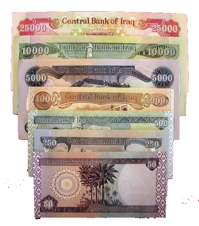 Central Bank Of Iraq Withdraw 50 Dinars