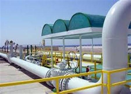 إنجاز ثلاثة عدادات من اصل ستة لتصدير الغاز