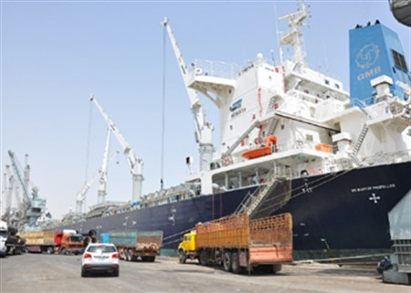 Project has been proposed to increase the area Abu Floos port of Iraq