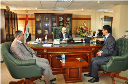 Chinese Companies Showed Interest in Communication Sector of Iraq