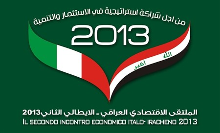 The Second Economic Forum Iraqi-Italian 2013 between 3rd-6th, July 2013
