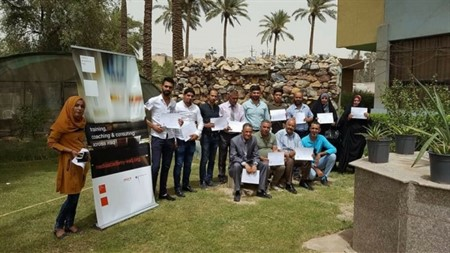 Workshop for radio station advertising in Diwaniya concluded by MICT